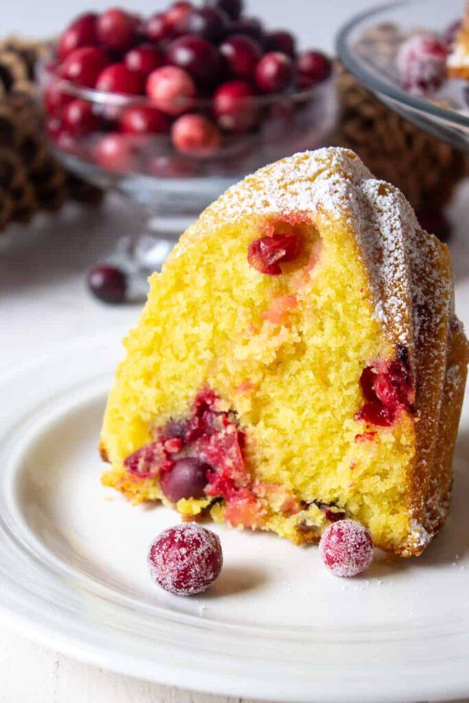 Cranberry Bundt Cake Beyond the Chicken Coop