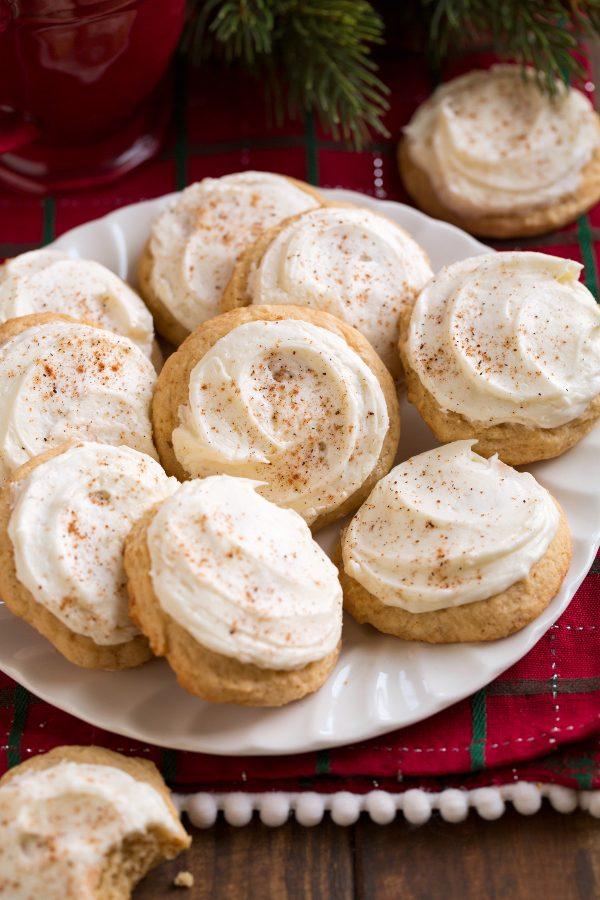 Eggnog Cookies Cooking Classy