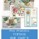 Free Printable Vintage New Year's Postcard Collection