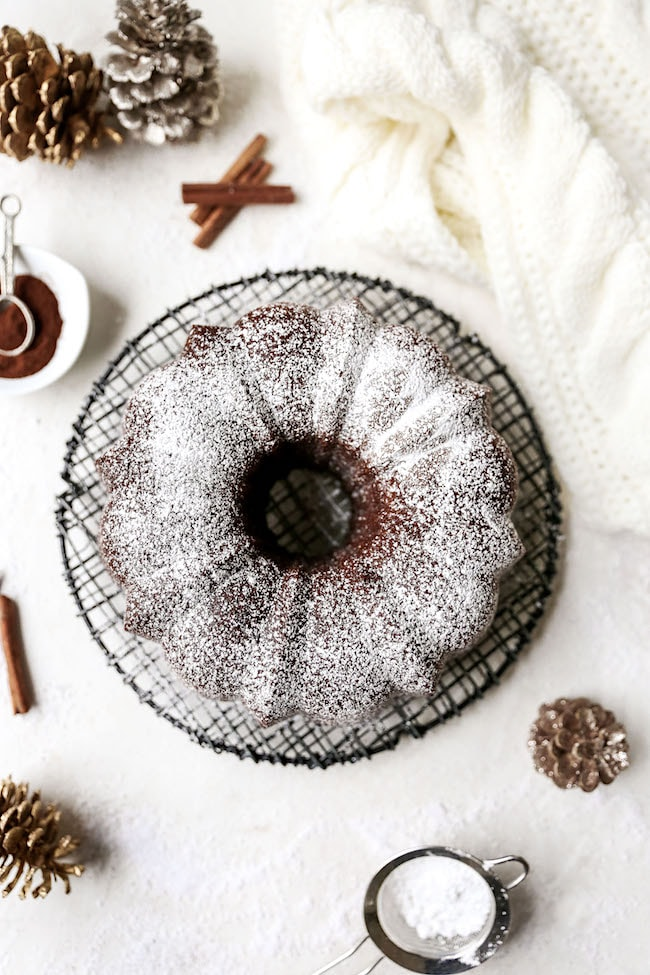 Gingerbread Bundt Cake Two Peas and Their Pod