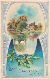 Vintage Postcard New Year's