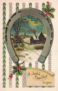 Vintage Postcard New Year's