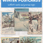 A Vintage Collection of Free Printable Winter Postcards