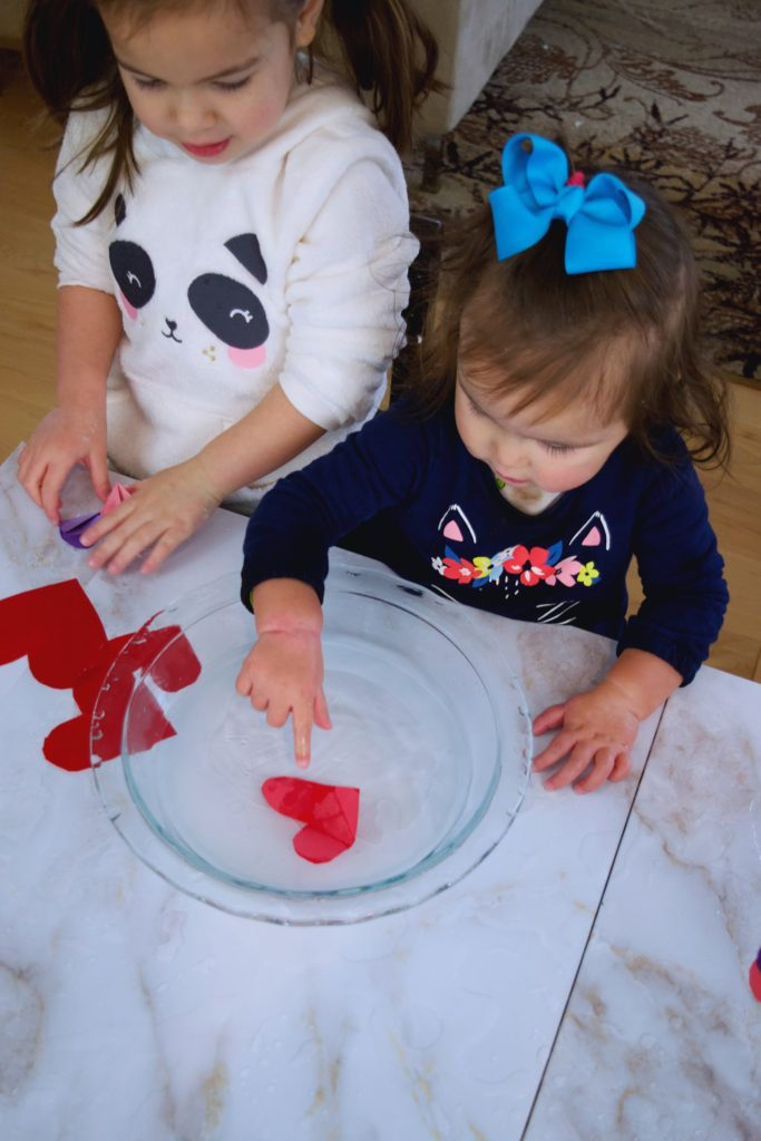 Blooming Hearts Entertain Your Toddler