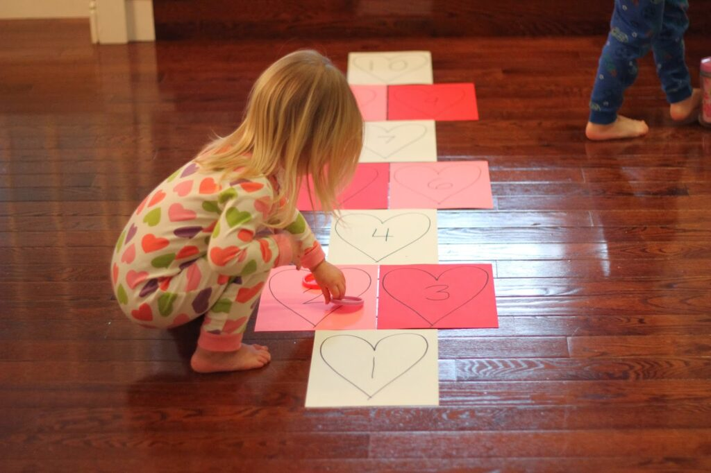 Heart Hopscotch Toddler Approved