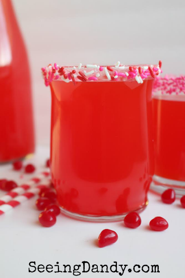 Red Hots Valentine's Day Punch Seeing Dandy