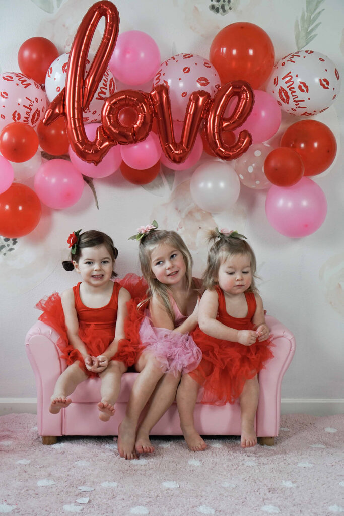 Toddler Valentine's Day Party Arin Solange at Home
