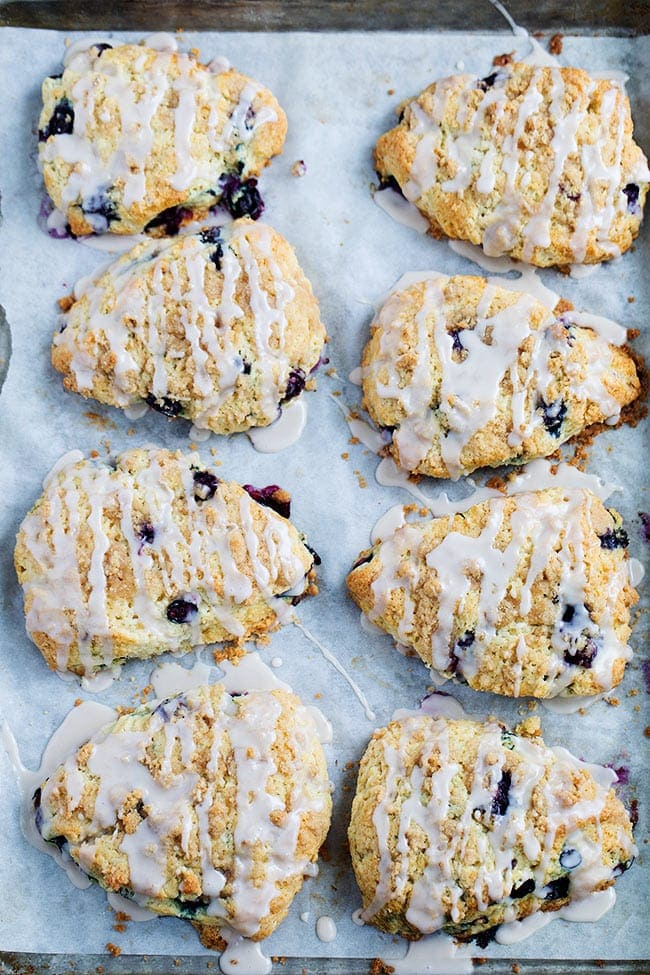 Blueberry Scones Two Peas and Their Pod