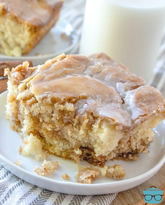 Cinnamon Roll Cake The Country Cook