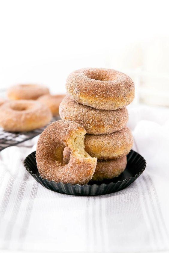 Cinnamon Sugar Donuts Broma Bakery