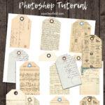 Digital Journal Tags Photoshop Tutorial