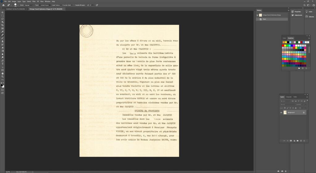 Digital Vintage Paper for Journal Tags