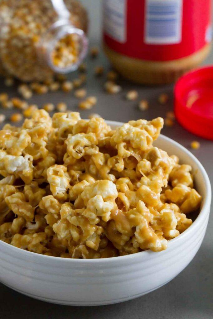 Peanut Butter Popcorn Taste and Tell