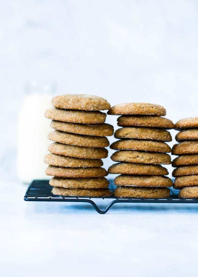 Soft Gingersnap Cookies Two Peas and Their Pod