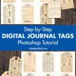 Step-by-Step Digital Journal Tags Photoshop Tutorial