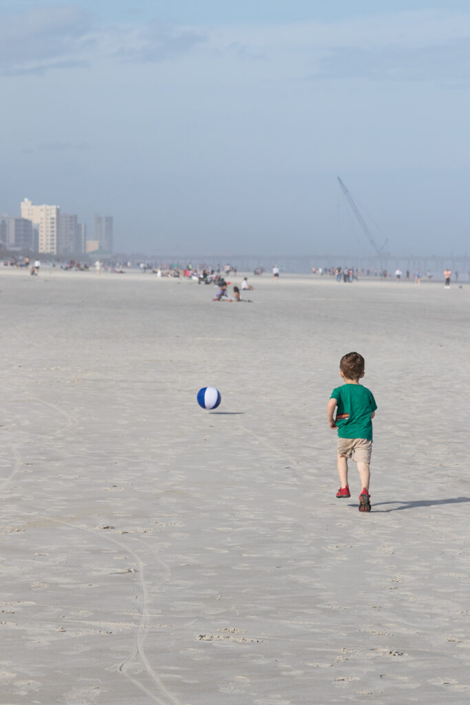 Tommy at Jacksonville Beach