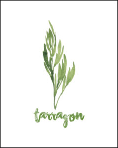 Tarragon With Text