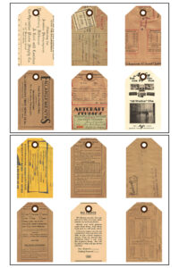 Vintage Film Photography Journal Tags 8.5x11 Pages