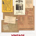 Vintage Film Photography Printable Ephemera Set
