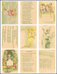 Fairy Tales ATC Cards 8.5x11 Page Preview
