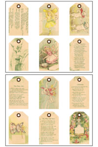 Fairy Tales Journal Tags 8.5x11 Pages Preview