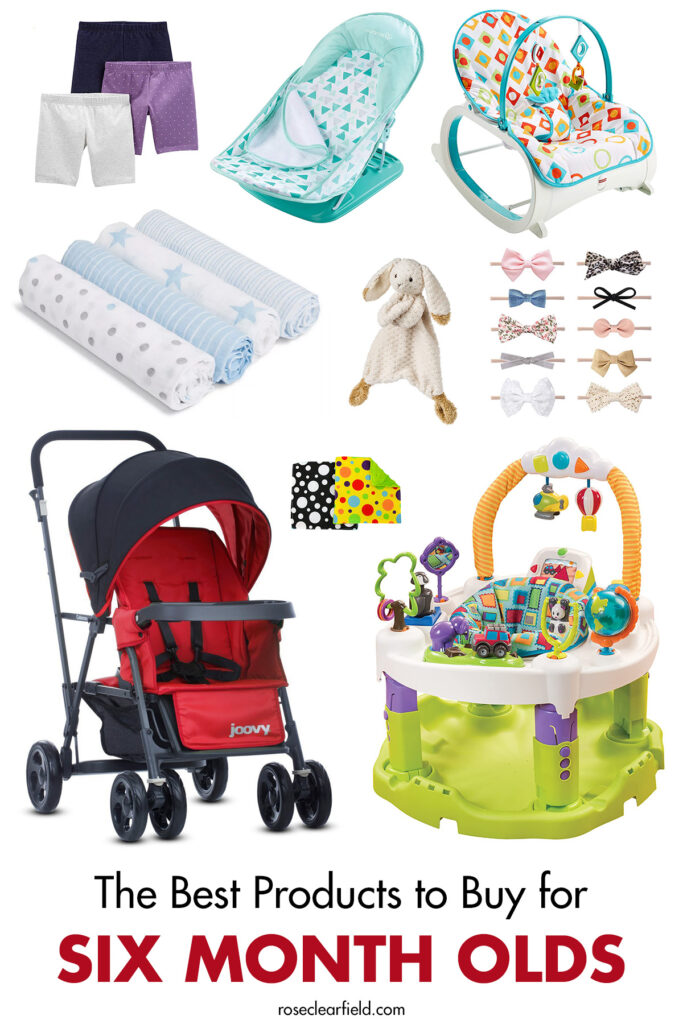 The Best Products to Buy for Six Month Olds