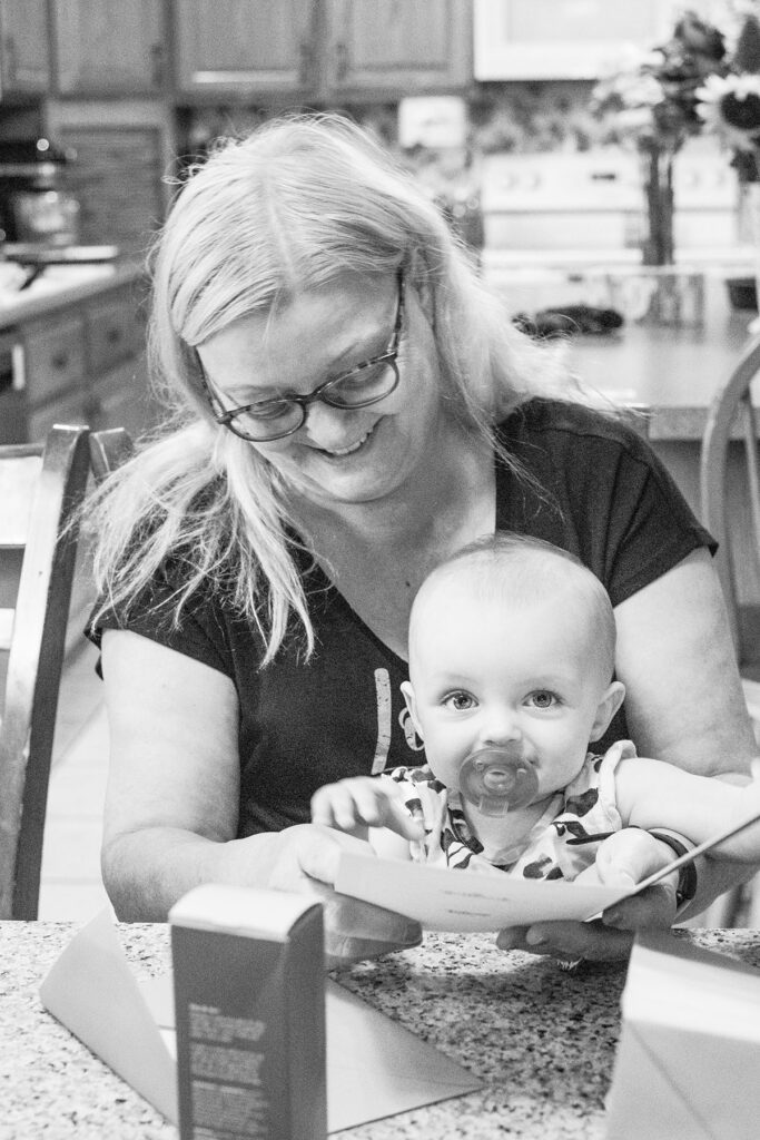 Olivia with Grandma